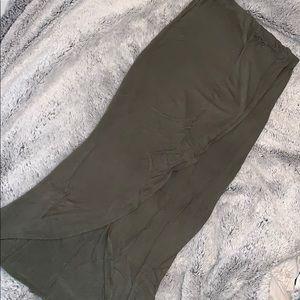 🕊Olive Green🕊 Asymmetrical Skirt